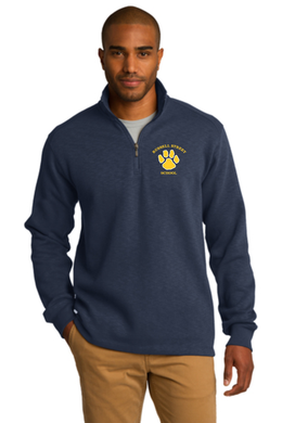 Russell Street School Mens Slub Fleece 1/4 Zip / Sanmar F295