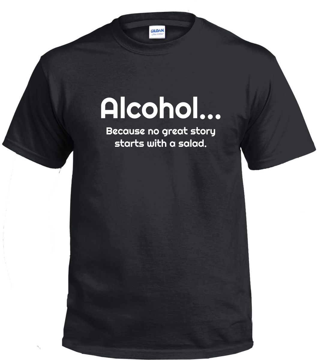 Alcohol T Shirt