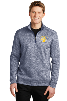 Russell Street School Posicharge Heather Fleece 1/4 Zip / Sanmar ST226