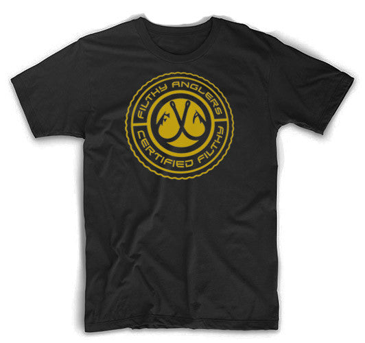 Filthy Anglers Gold Seal Tshirt