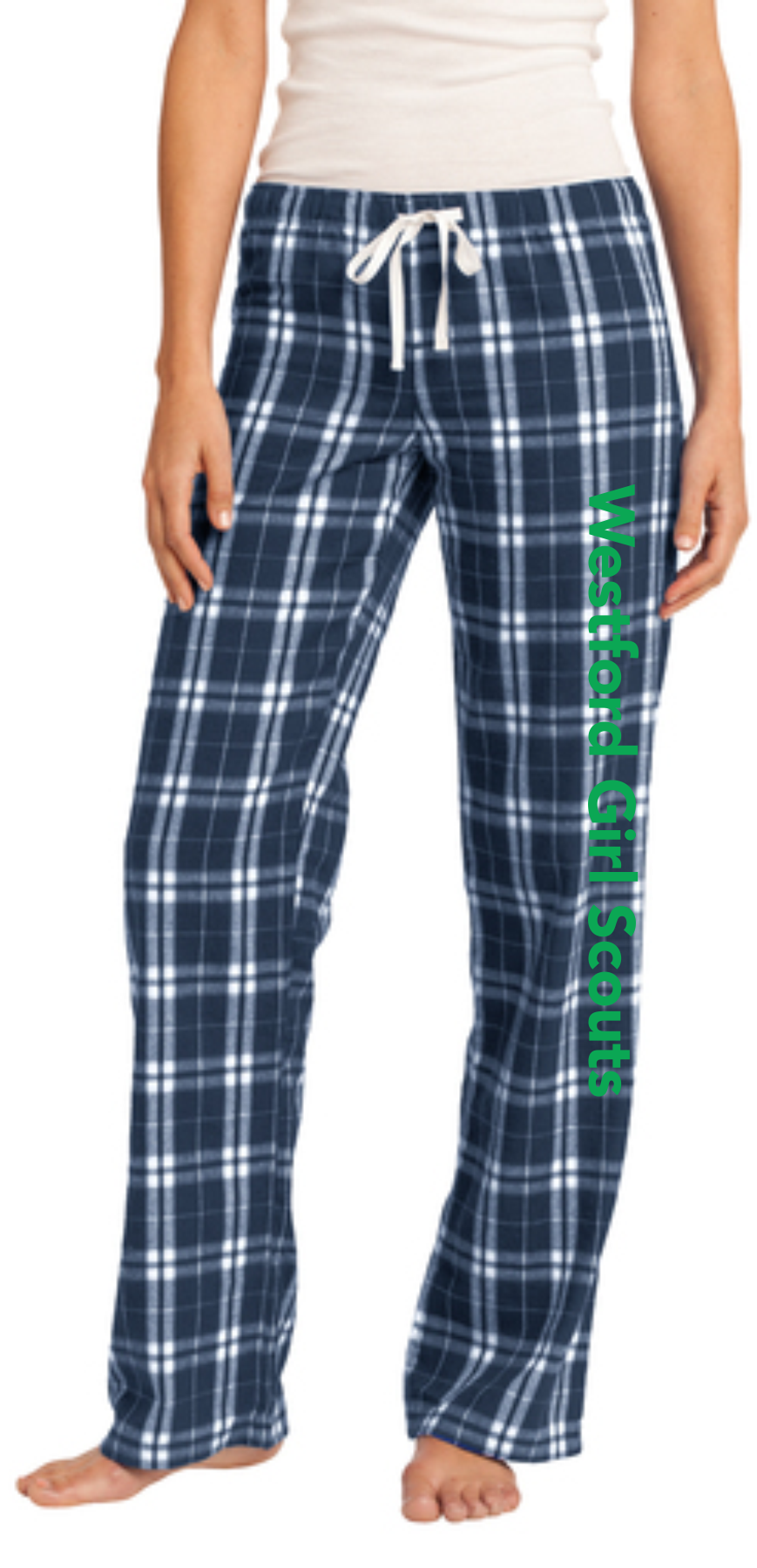 Westford Girl Scouts Flannel Plaid Pants