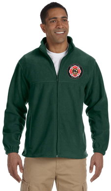 Westford Pipes and Drums Fleece Full Zip / Harriton M990