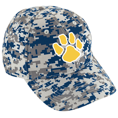 Littleton Boosters Camo Hat / Augusta 6208