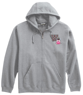 WA Cafeteria Lunch Lady Zip up Sweatshirt / Pennant 708