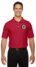Westford Pipes and Drums Pima Piqué Wicking Polo / Devon and Jones DG150