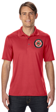 Westford Pipes and Drums Wicking Polo / Gildan G448