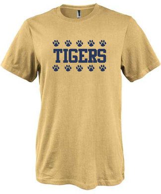 Littleton Boosters Tee Shirt Gold / Pennant 7202
