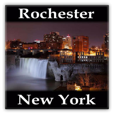 Rochester, New York Metal Magnet