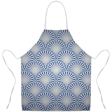 Clam Shell Pattern Apron