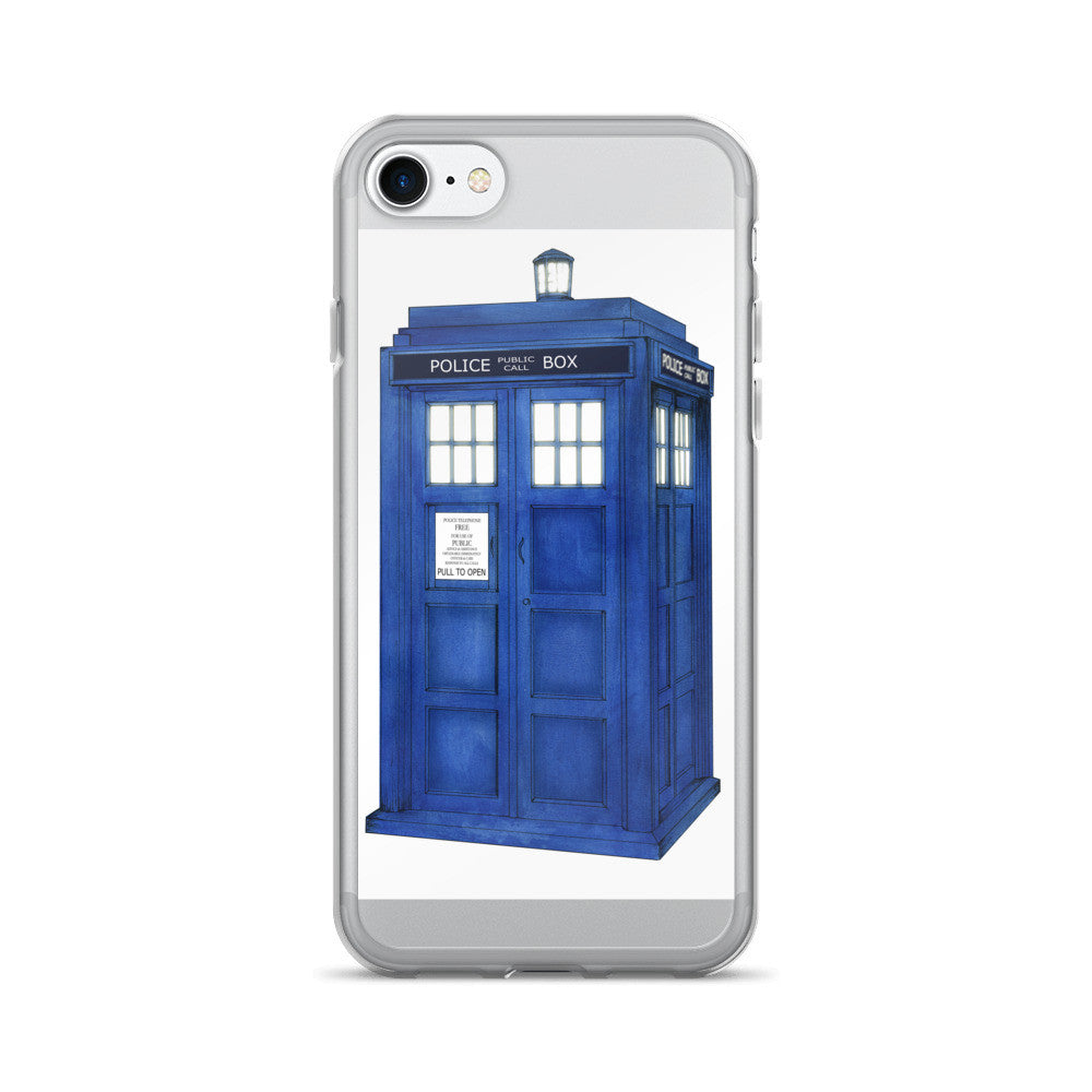 TARDIS iPhone 7/7 Plus Case