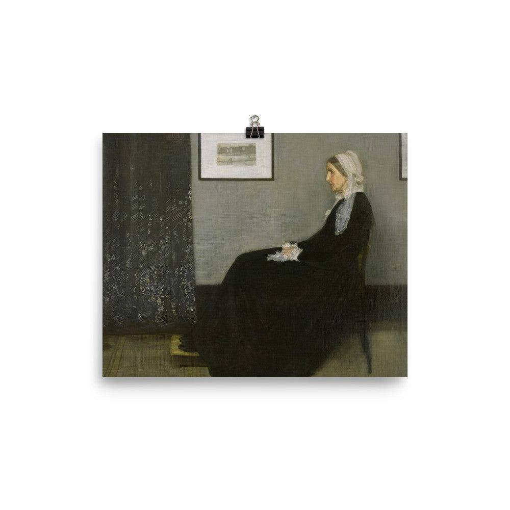 Whistler's Mother poster