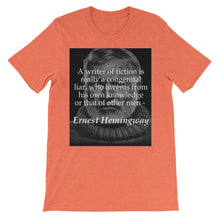 A writer of fiction t-shirt