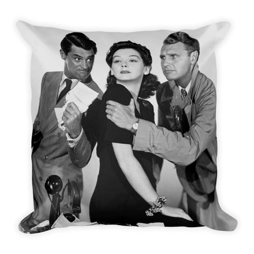 His Girl Friday Pillow