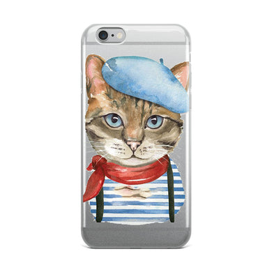 Artistic Cat iPhone Case