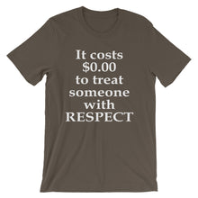The Price of Respect