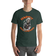 Happy Halloween Skeletal Zombie Short-Sleeve Unisex T-Shirt