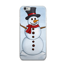 Snowman iPhone 5/5s/Se, 6/6s, 6/6s Plus Case