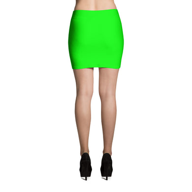 Green Mini Skirt