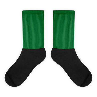 Hunter Green foot socks