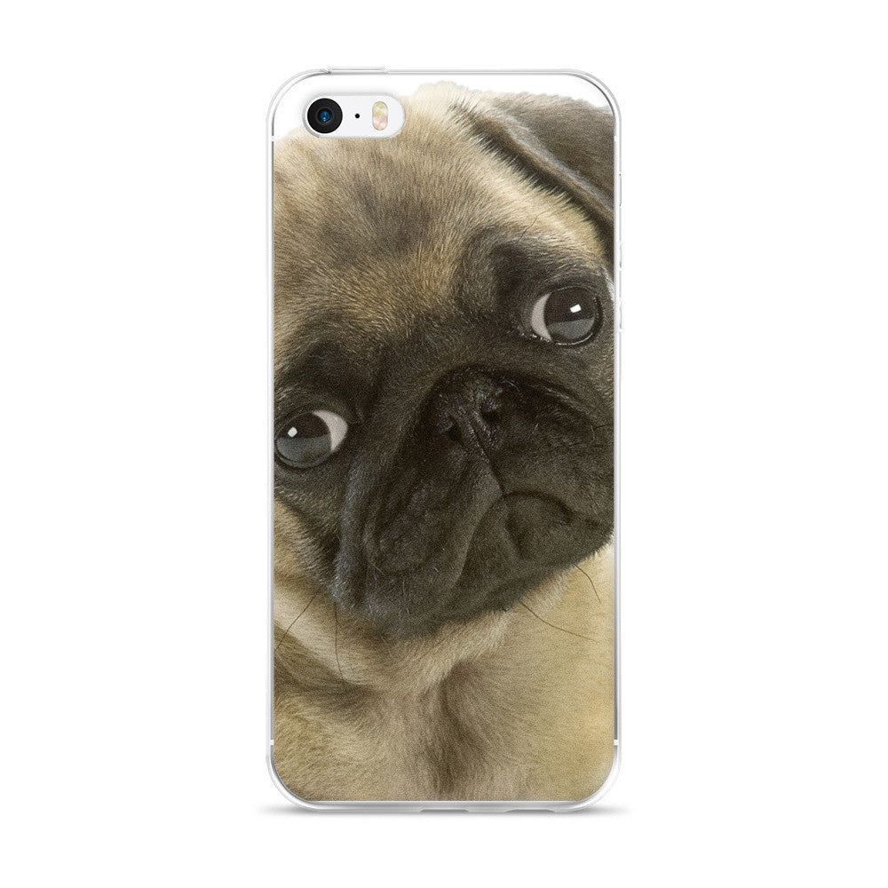 Pug iPhone 5/5s/Se, 6/6s, 6/6s Plus Case