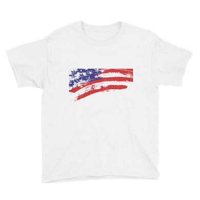 American Flag Youth Short Sleeve T-Shirt