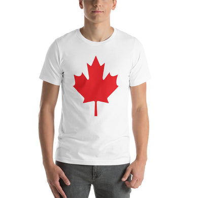 Maple Leaf Short-Sleeve Unisex T-Shirt