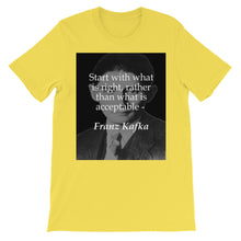 Start with what is right t-shirt