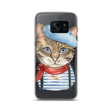 Artistic Cat Samsung Case