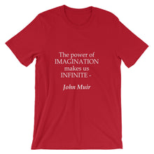 The power of imagination t-shirt