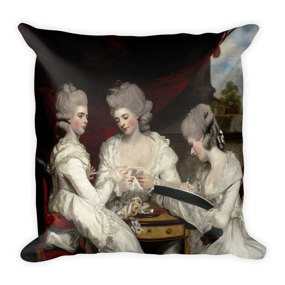 The Ladies Waldegrave Pillow