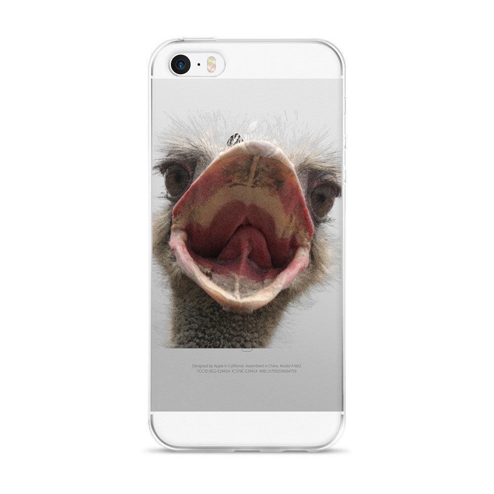 Ostrich iPhone 5/5s/Se, 6/6s, 6/6s Plus Case