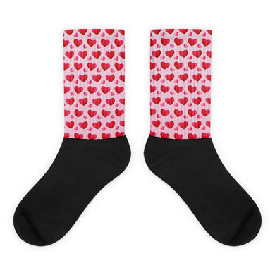 Valentine's Day foot socks