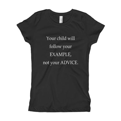 Girl's T-Shirt - Your Example