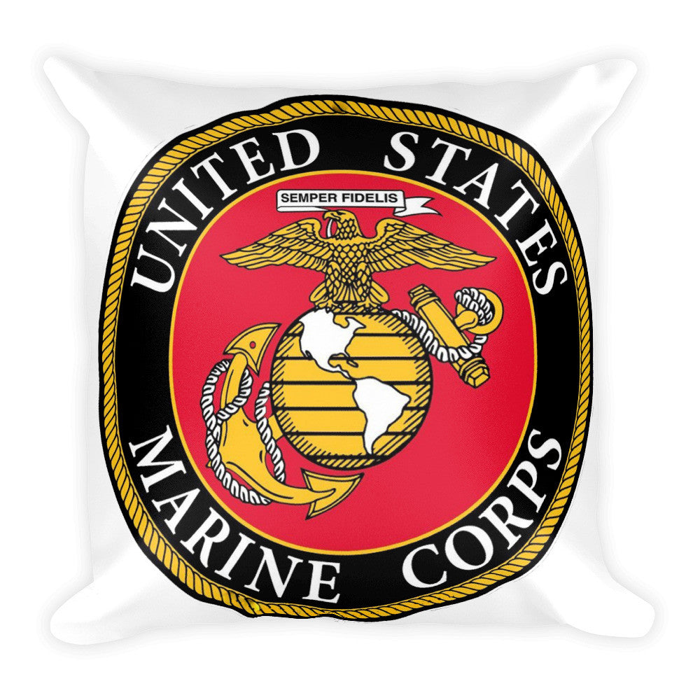 U. S. Marines Pillow