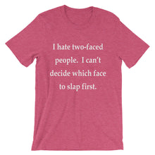 Two-faced people