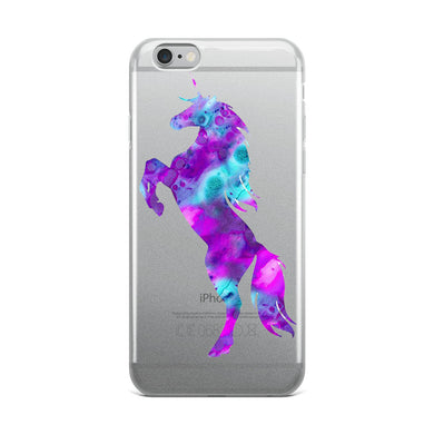 Psychedelic Unicorn iPhone Case