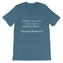 Believe you can t-shirt