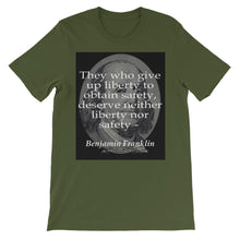 Those who give up liberty t-shirt
