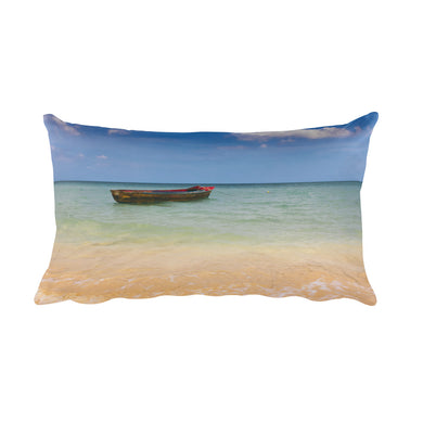 Boat on the Water Pillow