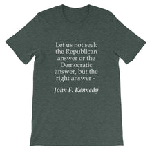 The right answer t-shirt