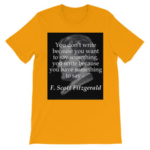 Something to say t-shirt