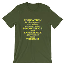 Education is like a seed...