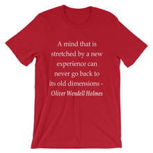 A mind that is stretched t-shirt