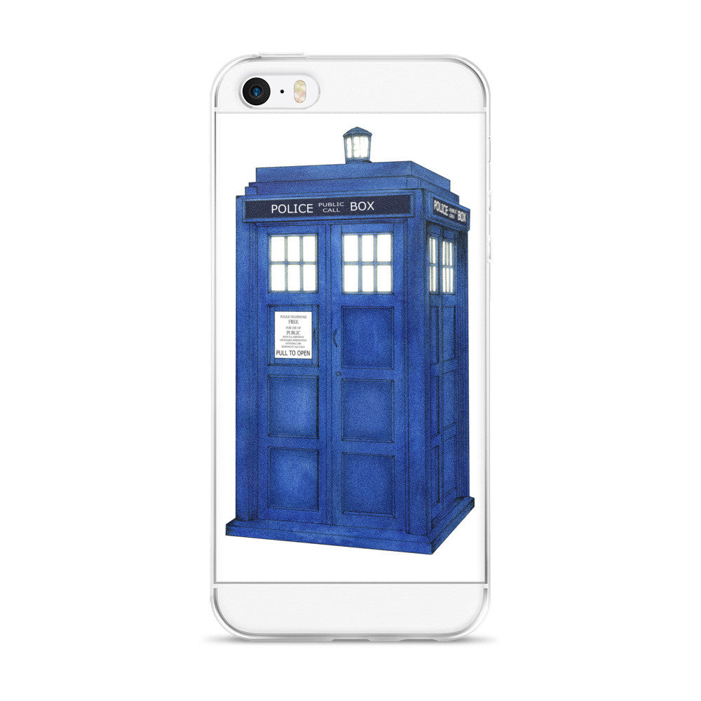 TARDIS iPhone 5/5s/Se, 6/6s, 6/6s Plus Case