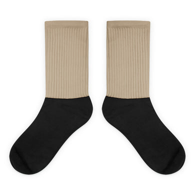 Tan foot socks