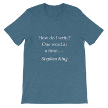 How do I write t-shirt
