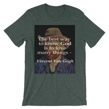 The way to know God t-shirt