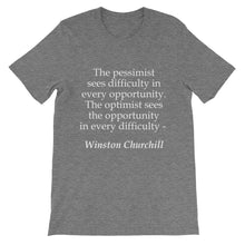 The optimist t-shirt