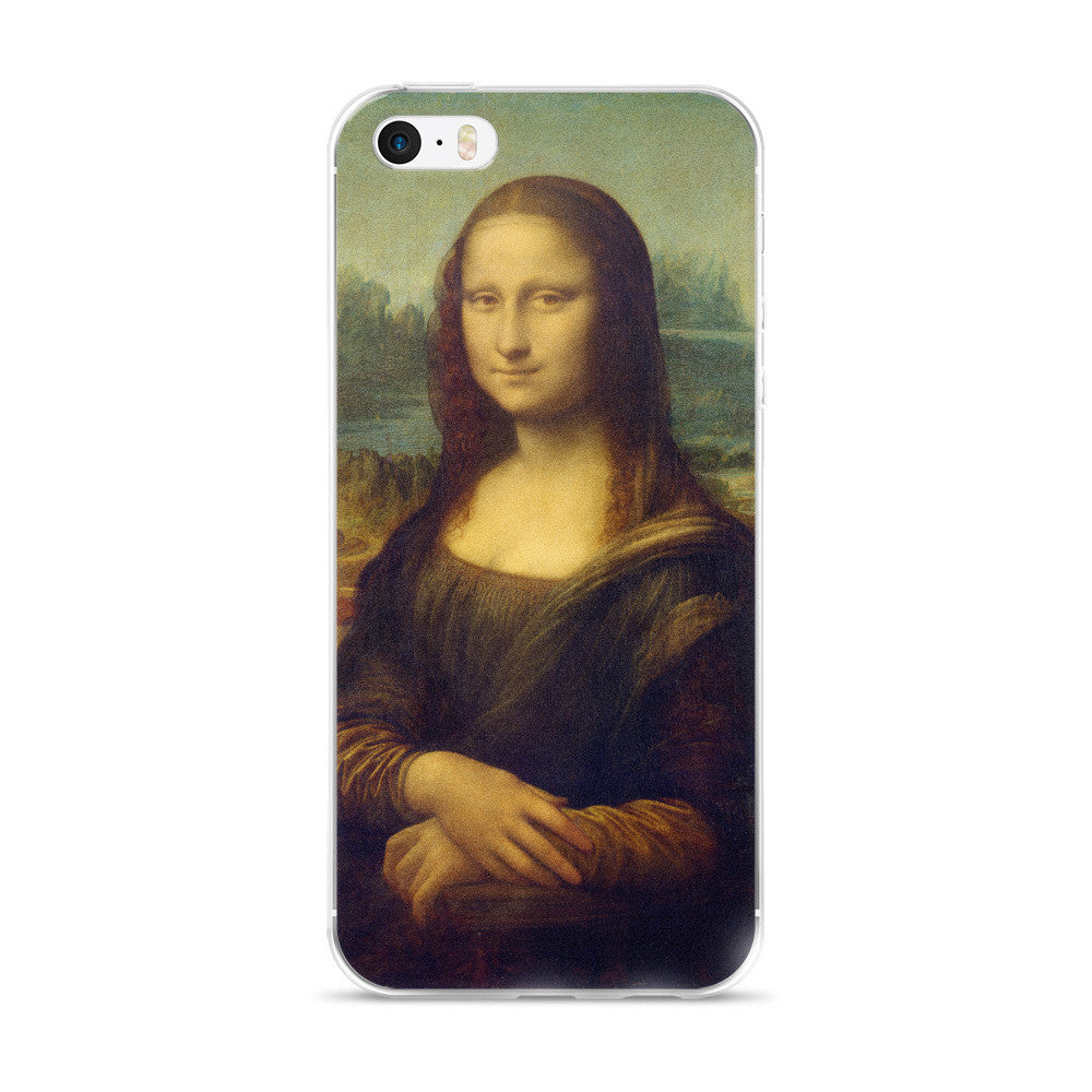 Mona Lisa iPhone 5/5s/Se, 6/6s, 6/6s Plus Case
