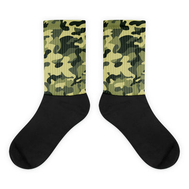 Camoflage foot socks